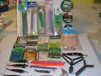 ASSORTMENT OF FISHING EQUIPMENT