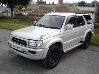 TOYOTA Hilux Surf SSR-G 3.0 Diesel Automatic silver