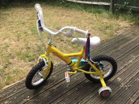 Apollo girl's bike (suitable for 4-6 yo)
