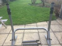 Squat/Bench combo rack - used