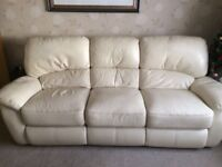 3 & 2 Reclining leather suite