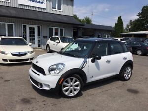 2011 Mini Cooper Countryman S + All4 + Cuir + Toit