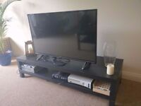 Two tier TV stand