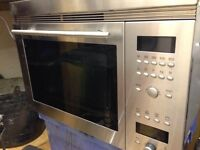 NEFF INTERGRATED MICROWAVE OVEN HARDLEY USED £100 ovno