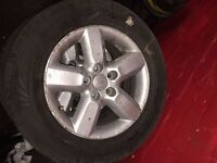 TOYOTA LAND CRUSIER 235/60/16 ALLOYS ONLY