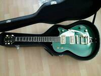 Rare gretsch elliot easton g5170 with upgraded,usa filtertrons and hard case