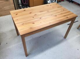 Pine dining table 4 seater