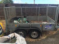 Ifor Williams box trailer good condition