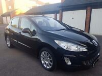 PEUGEOT 308 PETROL TIPTRONIC/AUTOMATIC SE SPORT 1.6 TURBO FULL PANORAMIC ROOF not 406 206 307 ford