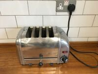 Dualit Stainless Steel Four-slot toaster
