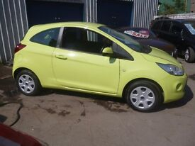 Ford KA Style,3 door hatchback,2 previous owners,2 keys,FSH,ideal first car,only 51,000,£30 a yr tax