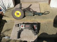 drill&angle grinder