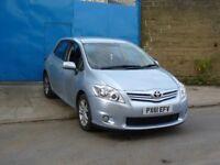 2012 Toyota Auris 1.33 VVT-i TR Petrol Hatchback 5dr Petrol Manual blue 5 door long MOT LOW MILEAGE