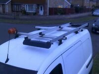 Vauxhall Combo Roof Bars, Ladder Rack and Beacon