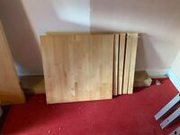 2 Person wooden table