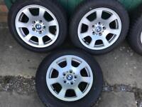 Bmw 530 snow wheels tyres