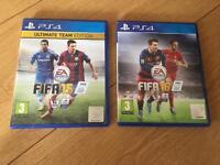 FIFA 15 &16 for PS4