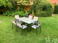 Supremo Leisure garden dining table and 6 chairs… lower price!