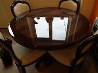 Dinning table 4chairs