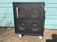 TC Electronic Bass cabs, 4x10 and 2x12, BC series