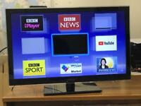 "Panasonic 32"" Smart Led tv Freeview Hdmi Youtube Netflix Ethernet Port excellent condition"