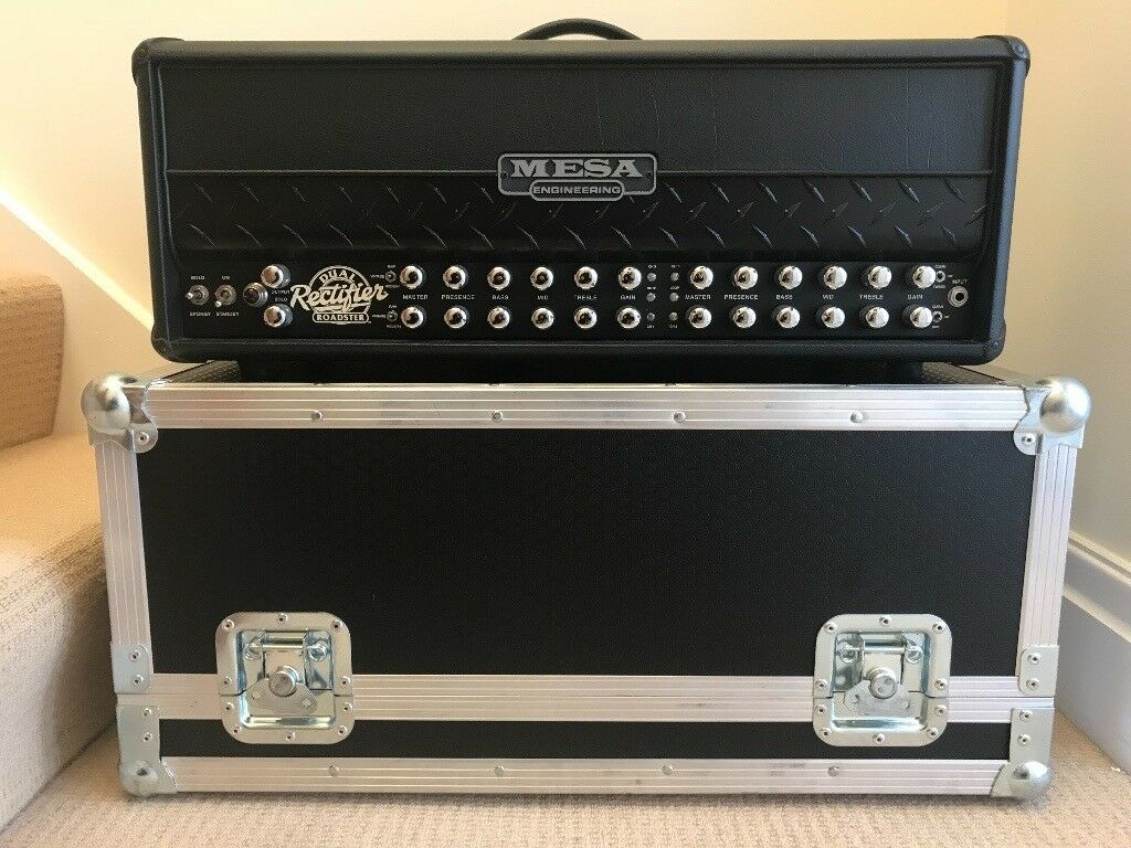 Mesa Boogie Roadster 100 Watt 4 Channel Head C W Flightcase Cables Many Parts Of Dual Rectifier Solo Schematic Diagram And Original