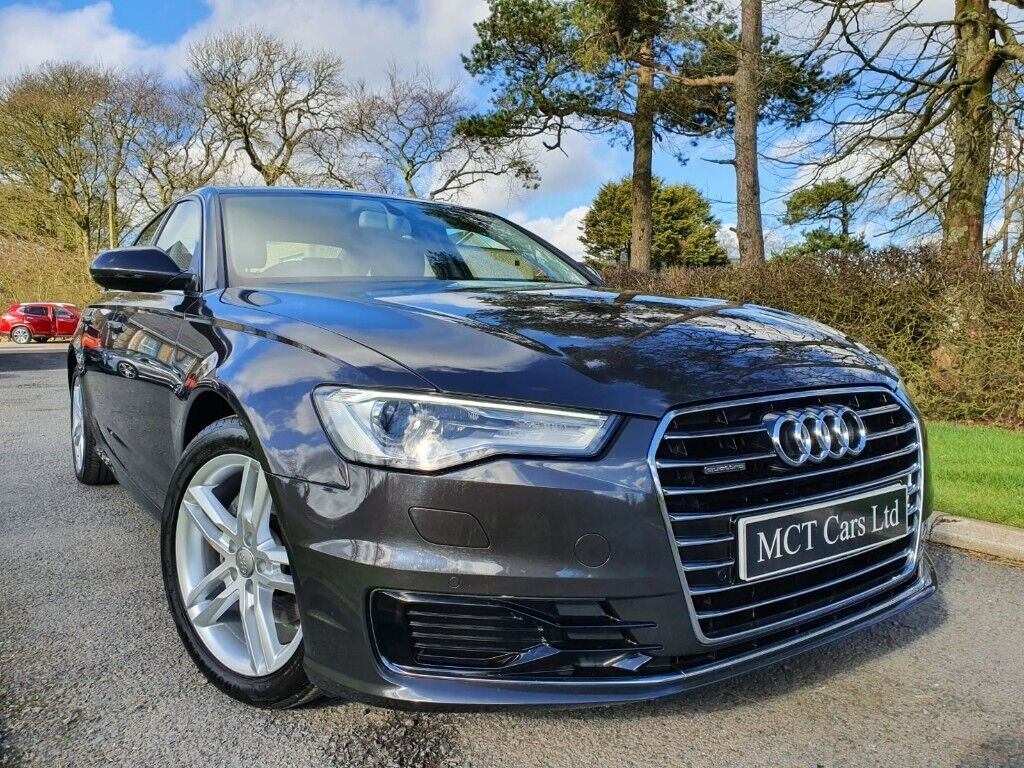 Sep 2016 Audi A6 2.0 TDI Quattro SE 4dr S Tronic VERY LOW MILES!! FACTORY S LINE ALLOYS! FASH