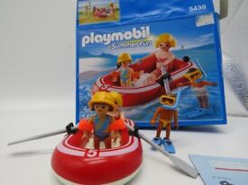 Playmobil 5439 Summer Fun Swimmers with Dinghy As New in Box