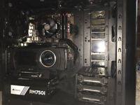 Titan X 12GB ( Maxwell) Gaming PC 16GB Corsair Led DDR4 Ram