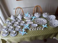 Large Collection of Blue Denmark Tableware China VGC - cash on collection from Gosport Hampshire