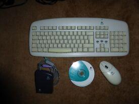 LOGITECH Cordless Desktop (Keyboard and Mouse)