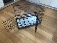 Dog cage for small med dogs