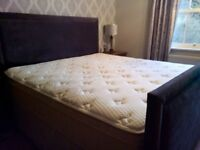 Fabulous preowned Orion Gold superking size Igel mattress