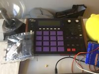 Akai Mpc in good condition super thick pad and control