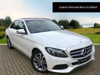 Mercedes-Benz C Class C220 D SPORT PREMIUM PLUS (white) 2016-09-27