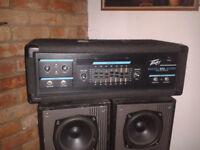 Peavey Mark III Bass Amp plus Behringher Ultrabass Driver Unit