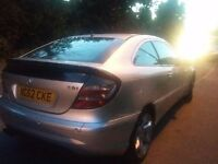 Mercedes C220 CDI Coupe **Auto Diesel** Quick Sale **May accept a px?