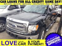 2013 Ford F-150 XTR * 4X4 * BACKUP CAM * SAT RADIO