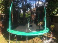 Used 12 feet trampoline