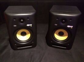 KRK ROKIT 6 G3 PAIR - Mint condition Black ORIGINAL BOXES, Rarely used. Can drop off if not too far