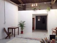 Artist Studio Space Available in Shared Warehouse E1 5NF