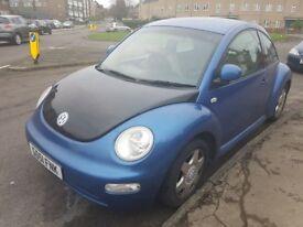 Vw beetle 2.0 12months mot