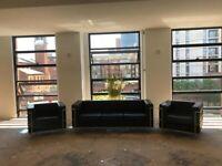 Office Sofa and Armchair Set