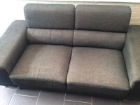 Three and two seater sofa