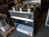 commercial lincat 6 pot wet bain marie catering equipment job lot restaurant takeway