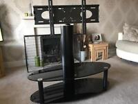 TV stand - with swivel bracket