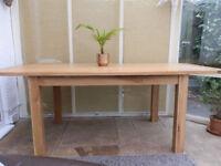 Westbury Reclaimed Oak Dining Table