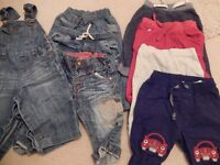Bundle of baby boy's trousers - age 6-9 months