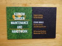 Garden maintenance, handywork and housekeeping offered at £10 per hour in the Wadebridge area