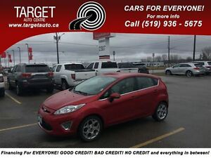 2011 Ford Fiesta SES, Loaded; Leather, Push Button Start and Mor
